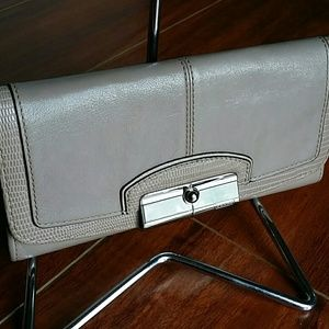 "Coach ""Kristin"" leather wallet"